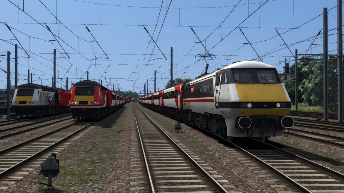1G01 1042 Peterborough – London Kings Cross – Class 91!