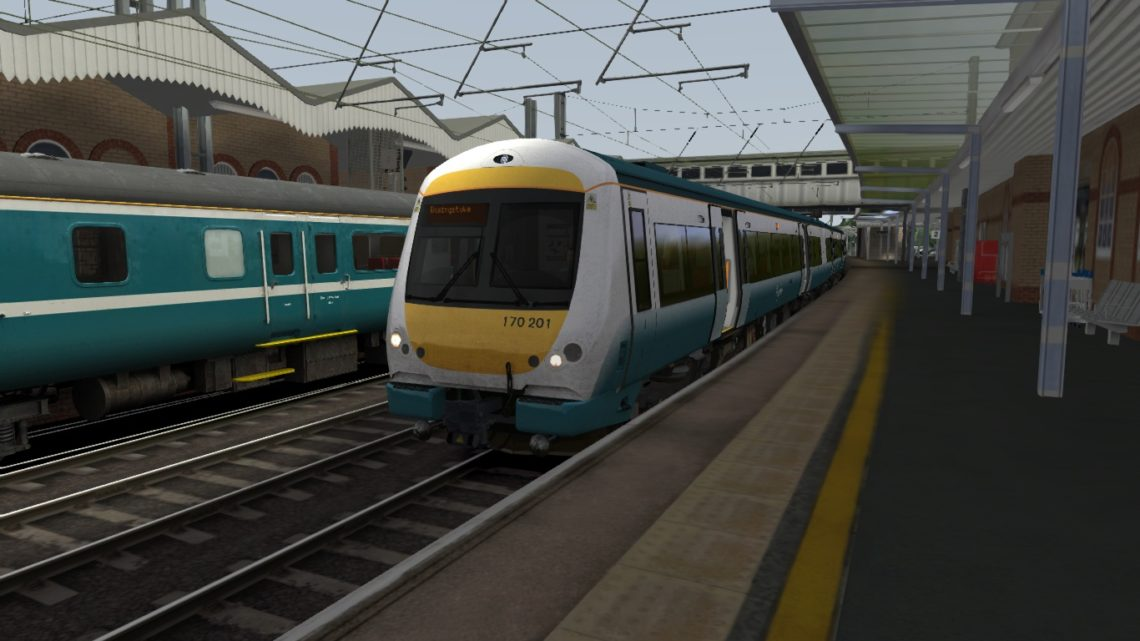 1Y35 0953 Ipswich to Basingstoke