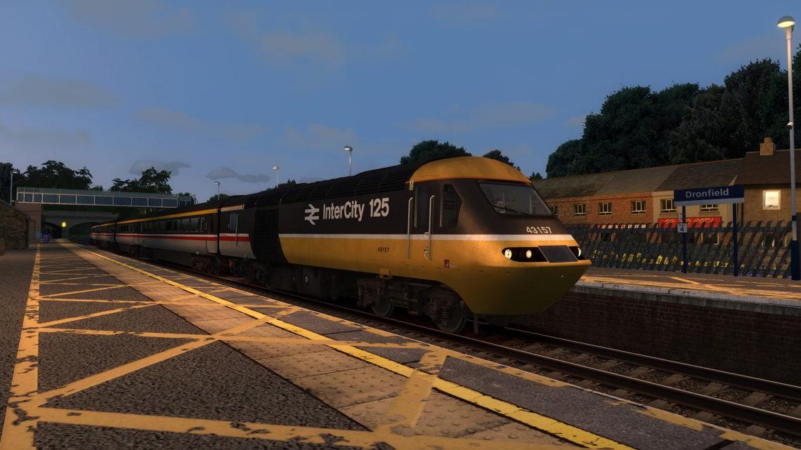 1C85: 2050 Sheffield to London St Pancras (1990)