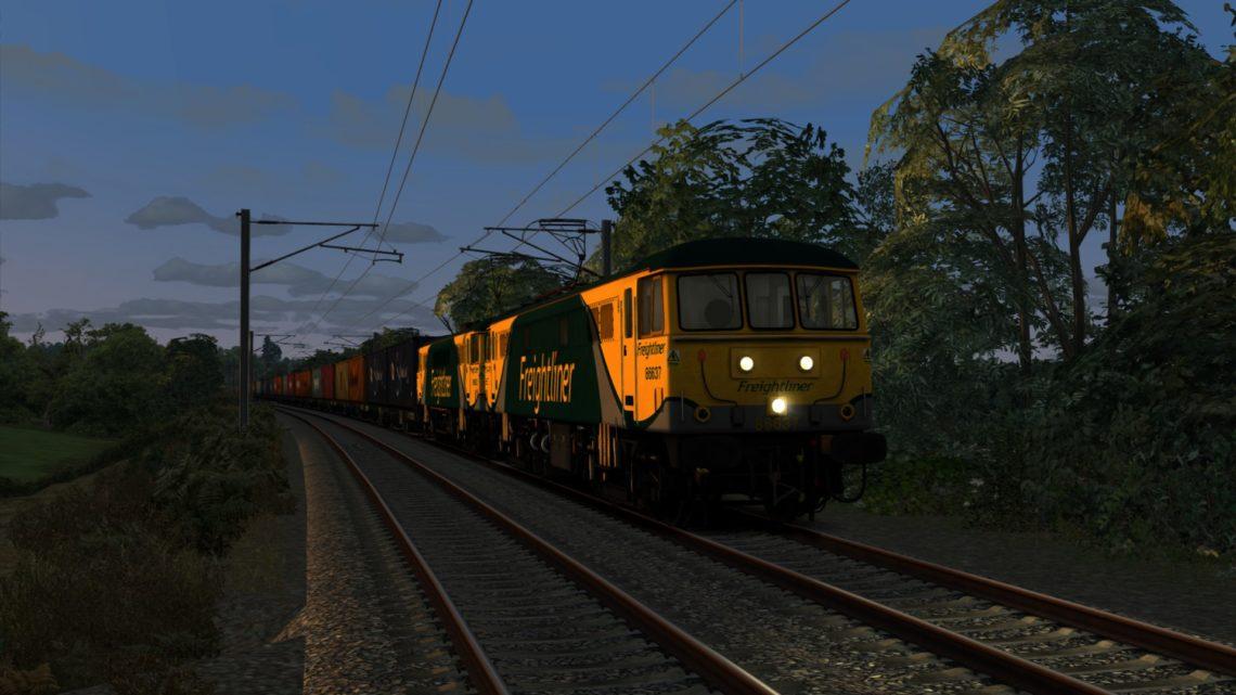 4M11 1814 Coatbridge F.L.T. to Crewe Basford Hall