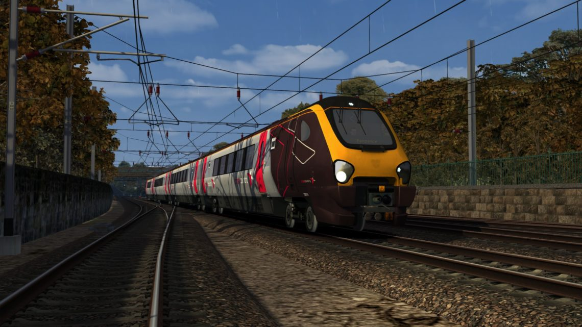 1V58 0900 Glasgow Central to Penzance