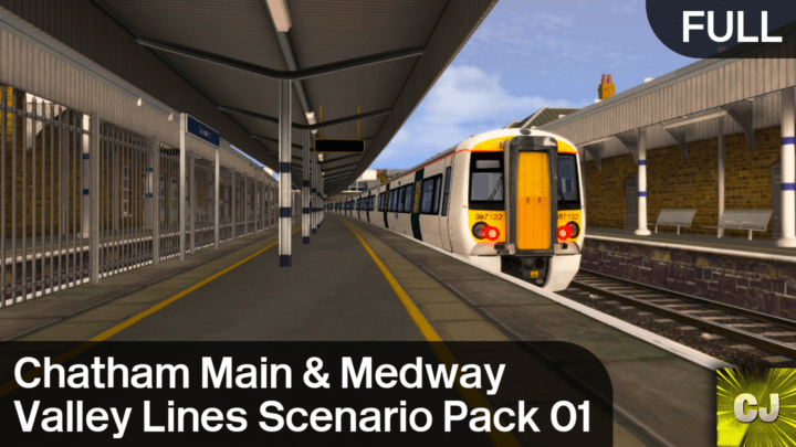 Chatham Main & Medway Valley Lines Scenario Pack 01