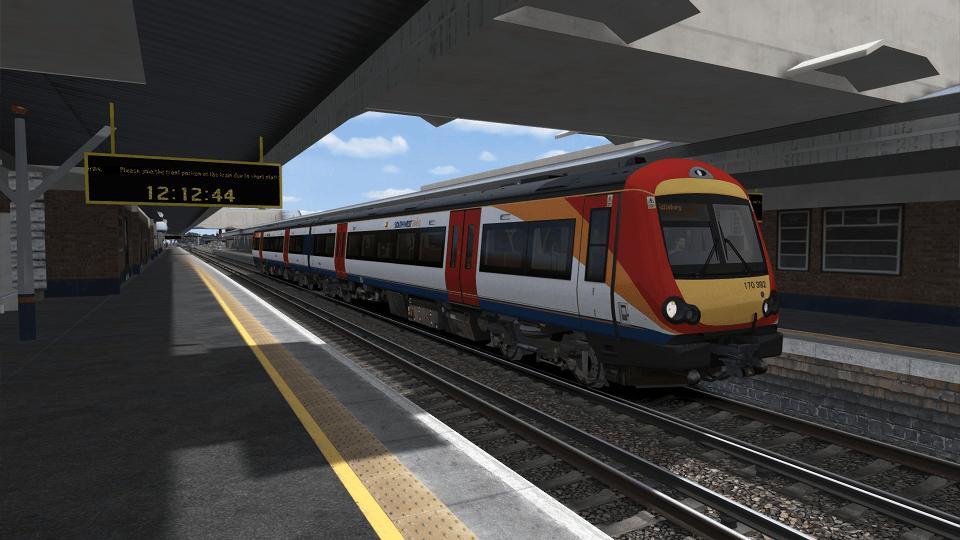 South West Trains 170392
