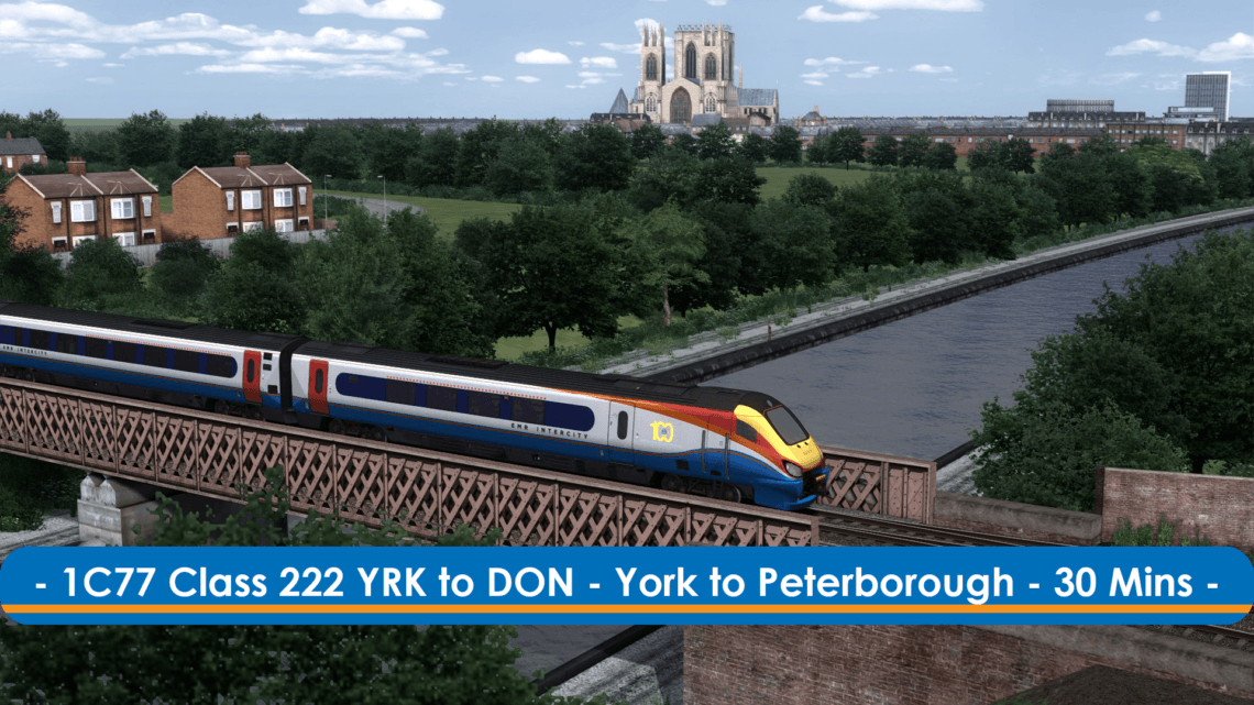 [222] 1C77 (York to Doncaster, 2019) UPDATED 16/10/2019