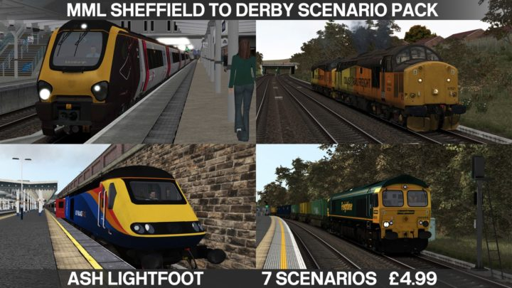 Midland Mainline Sheffield to Derby Scenario Pack