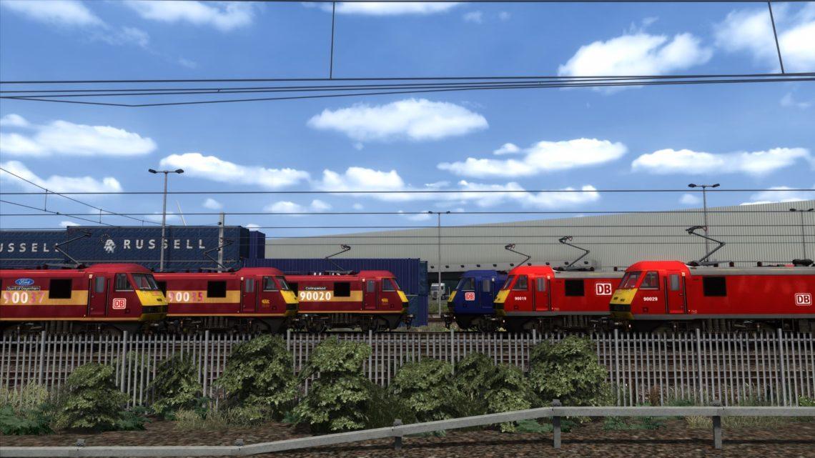 DB Cargo Class 90 Pack – v1.4 –