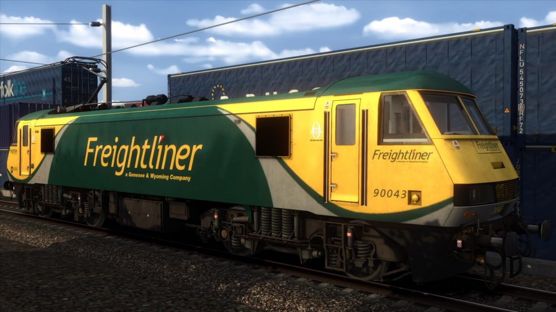 Class 90 Freightliner Powerhaul (G&W) 90043 – v1.2 –