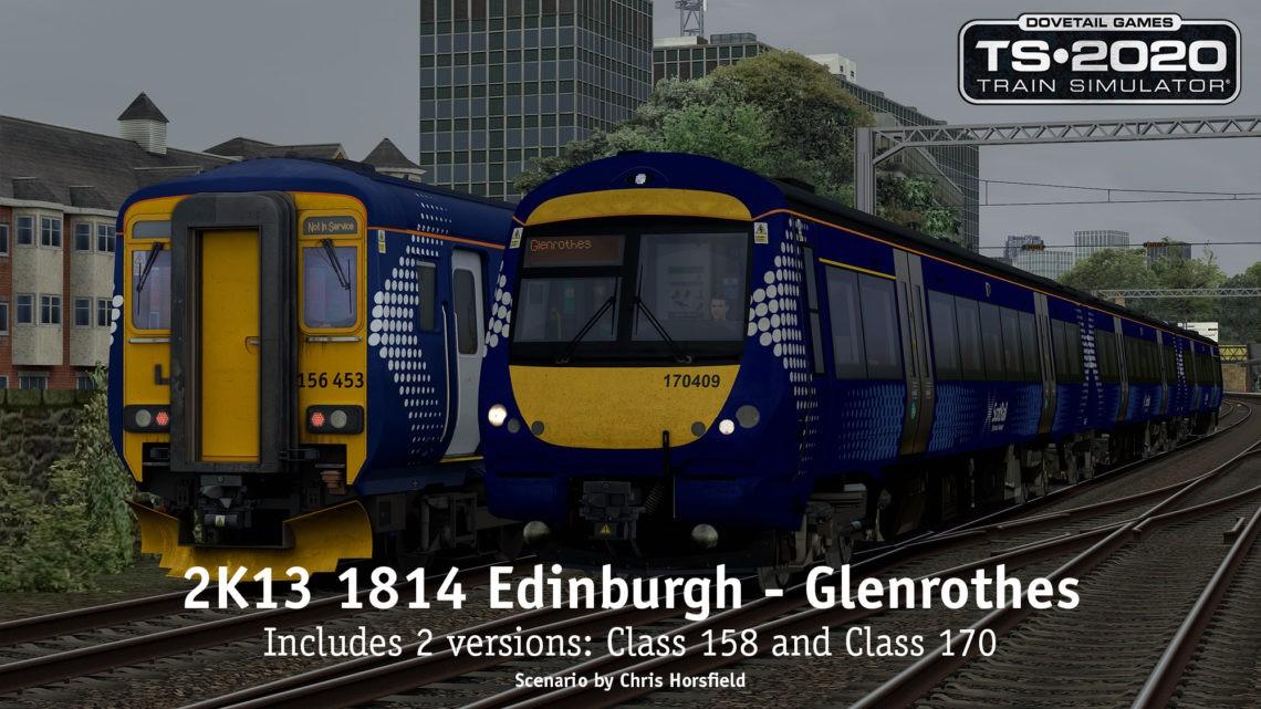 2K13 1814 Edinburgh – Glenrothes