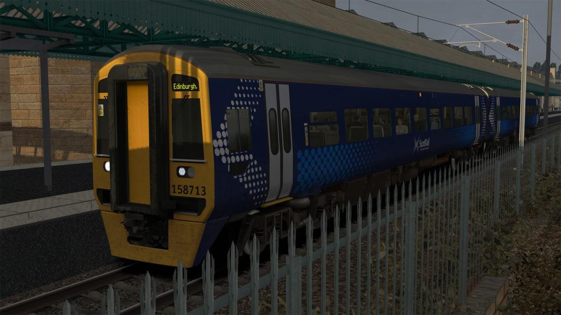 Class 158 Scotrail Destinations Update