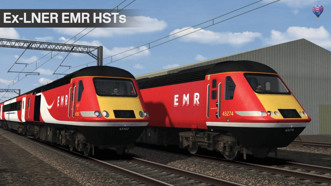 Ex-LNER (East Midlands Railway) HSTs