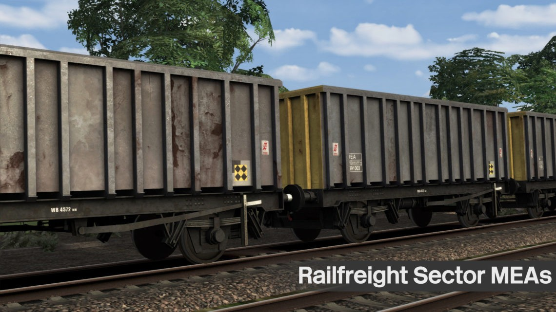 Railfreight Sector MEA Wagons