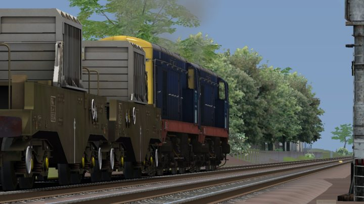 1158 Bridgwater F.D to Crewe Coal Sidings (Drs)
