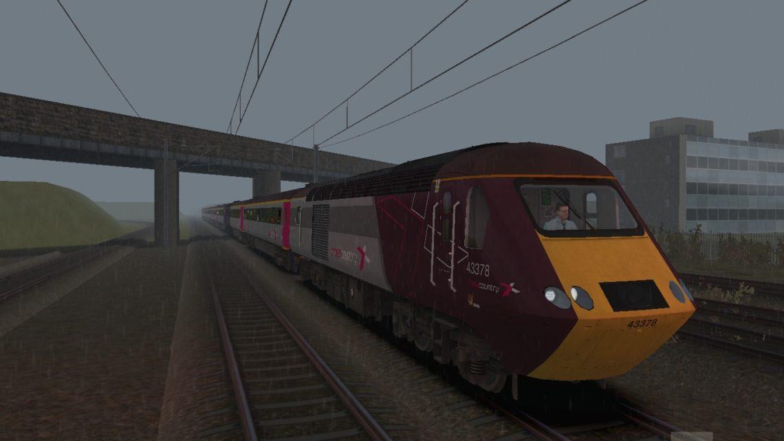 1V64 1307 Edinburgh to Derby