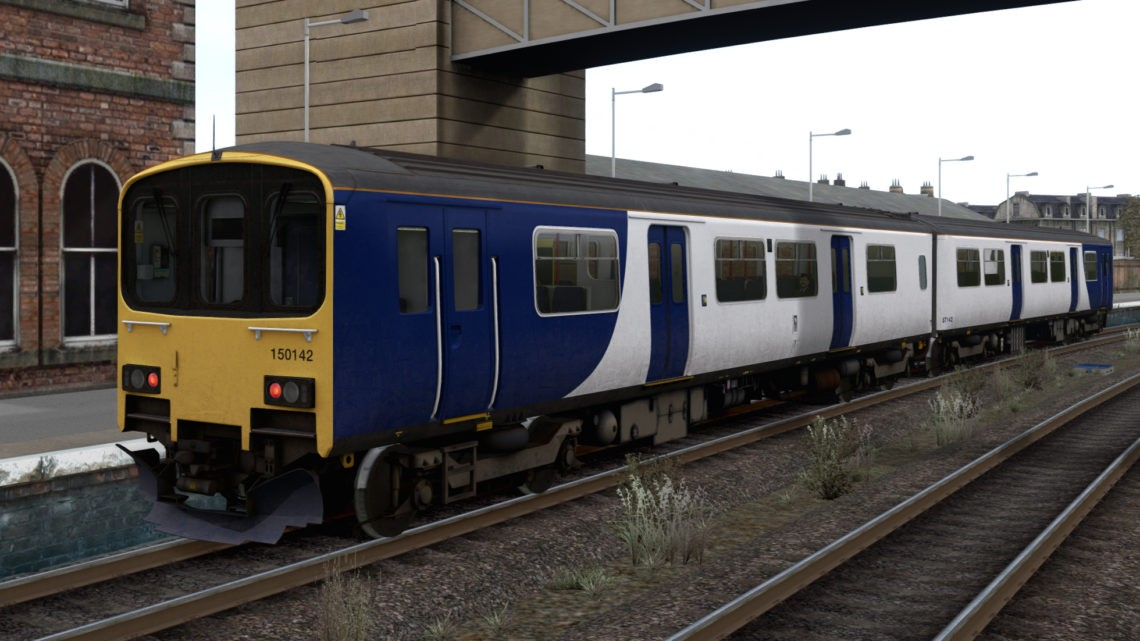 AP Class 150/1 Northern unbranded v1