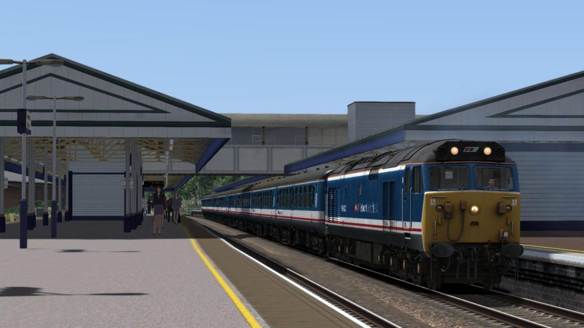 1O37 1105 Paignton to London Waterloo
