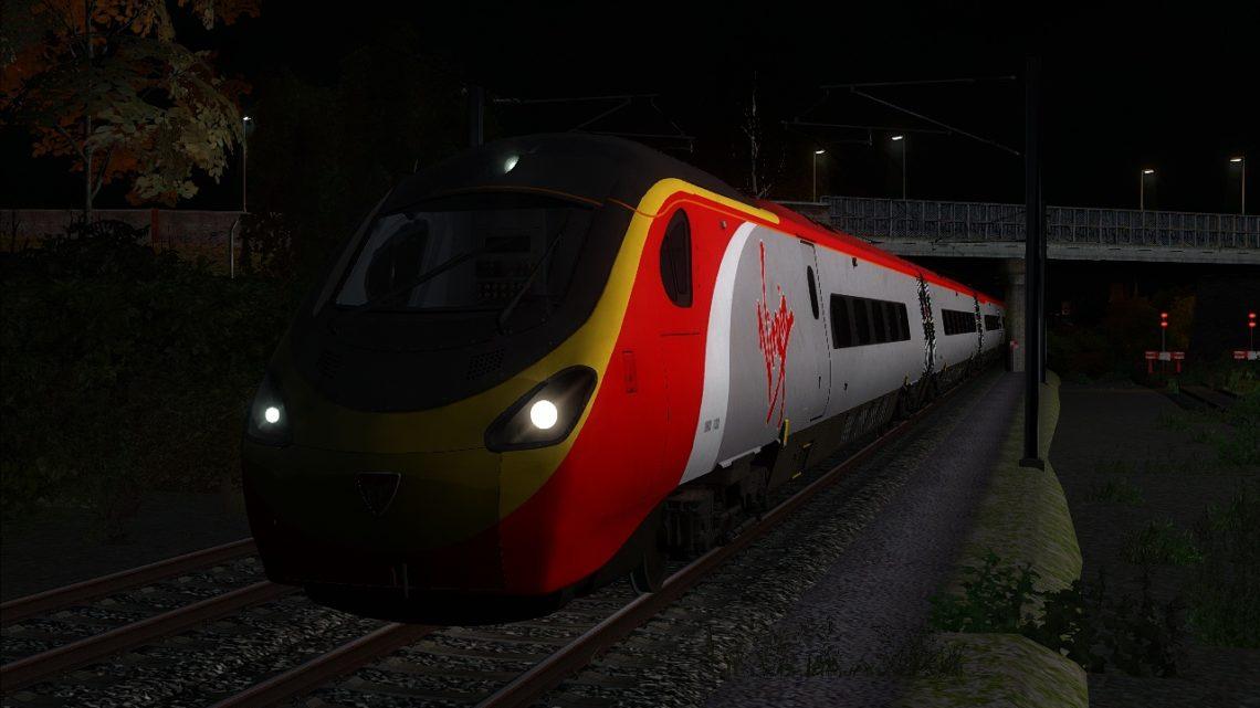 1M21 – 04:26 Glasgow Central to London Euston