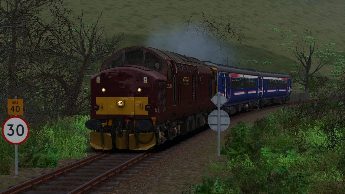 1Z99 – 12:02 Fort William Depot to Fort William Depot