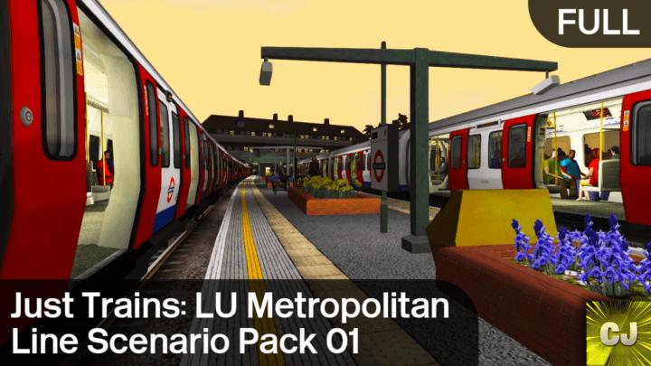 London Underground Metropolitan Line Scenario Pack 01