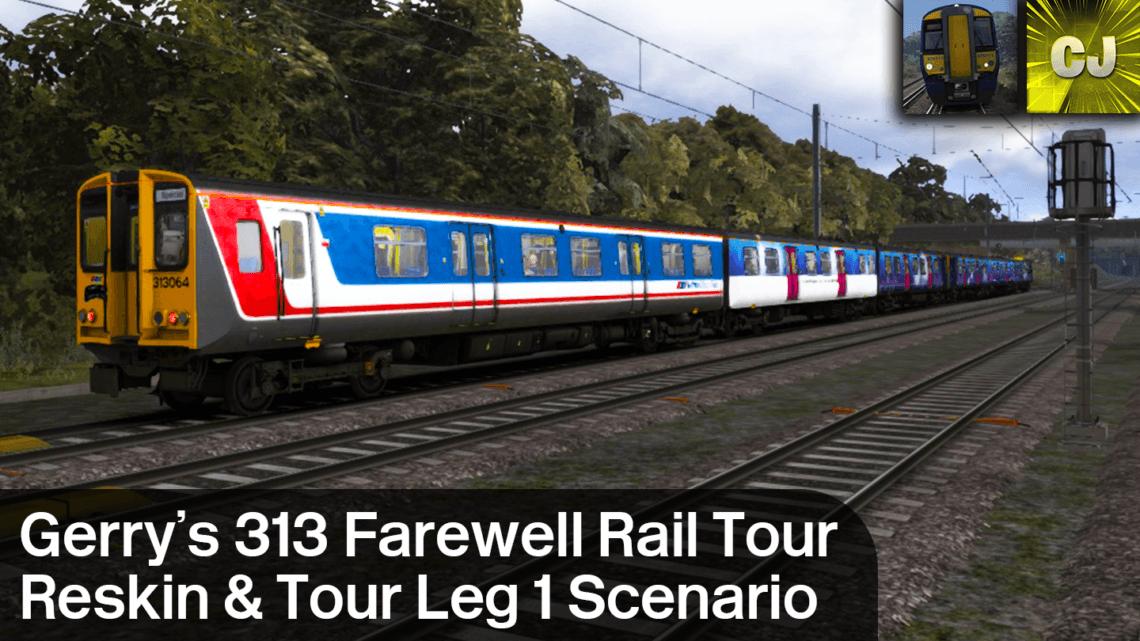 Gerry's 313 Farewell Rail Tour Class 313 Reskin + KGX – RYS (Tour Leg 1) Scenario