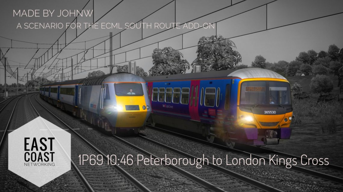 1P69 10:46 Peterborough – London Kings Cross