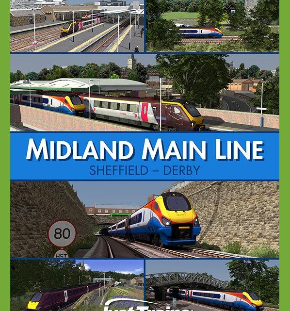 Just Trains Midland Mainline: SHEFFIELD-DERBY
