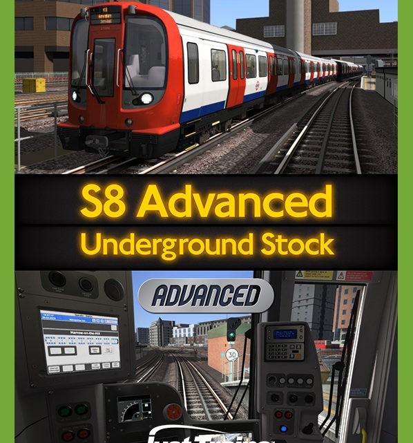 Just Trains – S8 ADVANCED – UNDERGROUND STOCK
