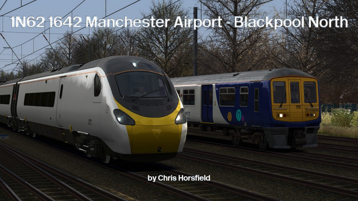 1N62 1642 Manchester Airport – Blackpool North