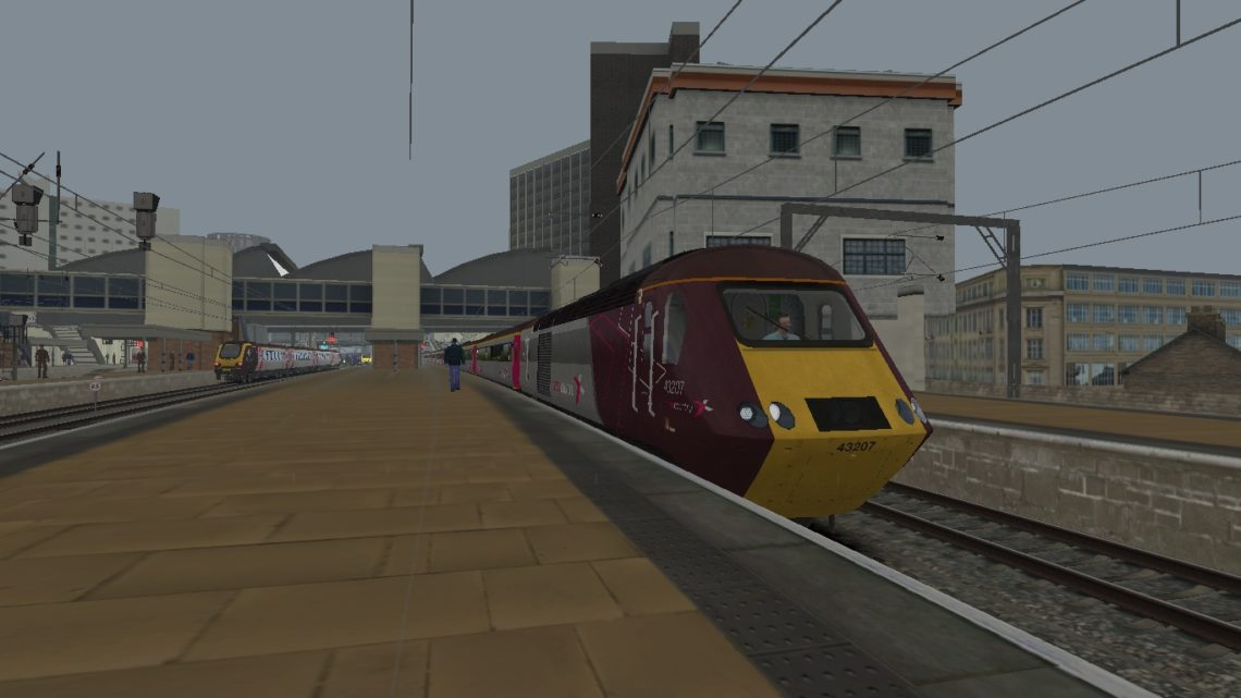 1S51 1227 Plymouth to Glasgow Central
