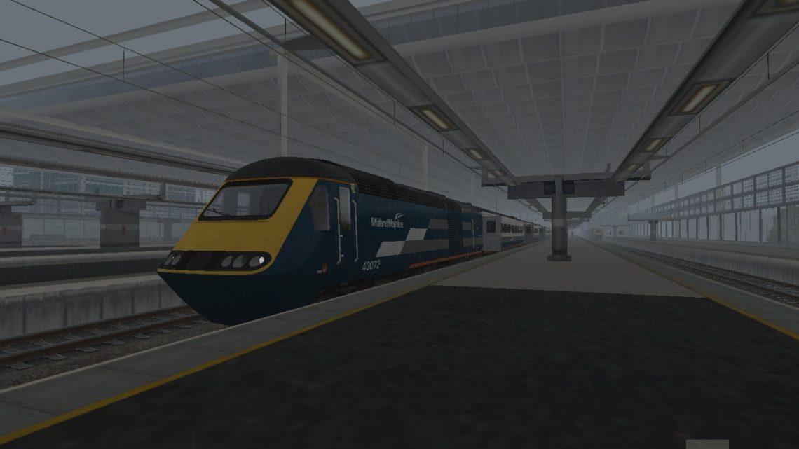 1F47 1531 St Pancras International to Sheffield