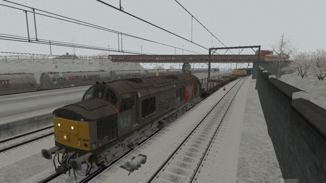 6Q10 Wembley to Polmadie Depot