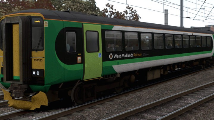 JT Class 153 West Midlands Railway (Ex-London Midland) v1