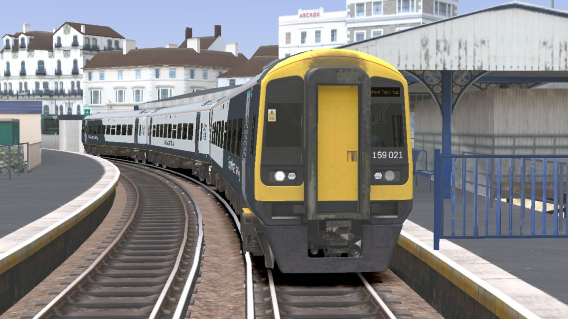Class 159 South Western Railway Revised