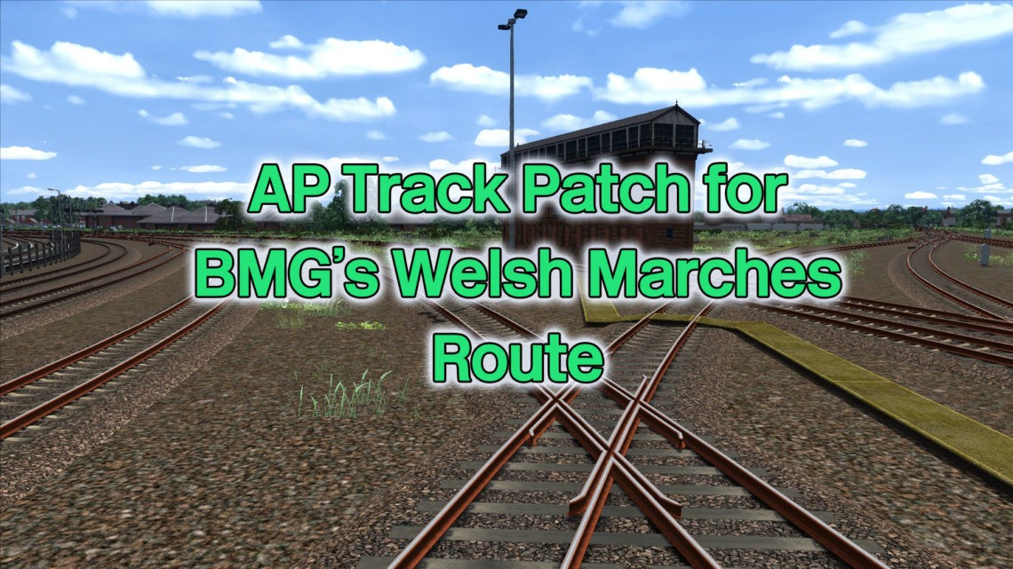 AP Track Patch for BMG's Welsh Marches Route
