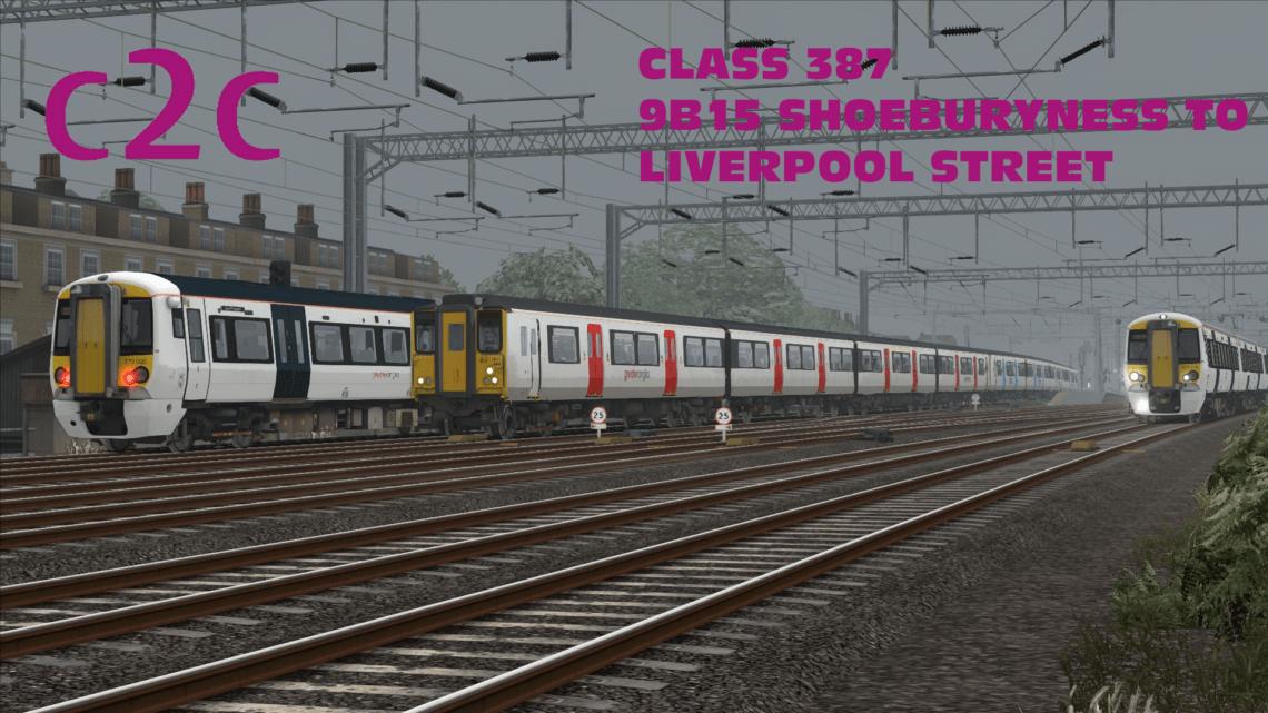 9B15 1052 Shoeburyness – London Liverpool Street