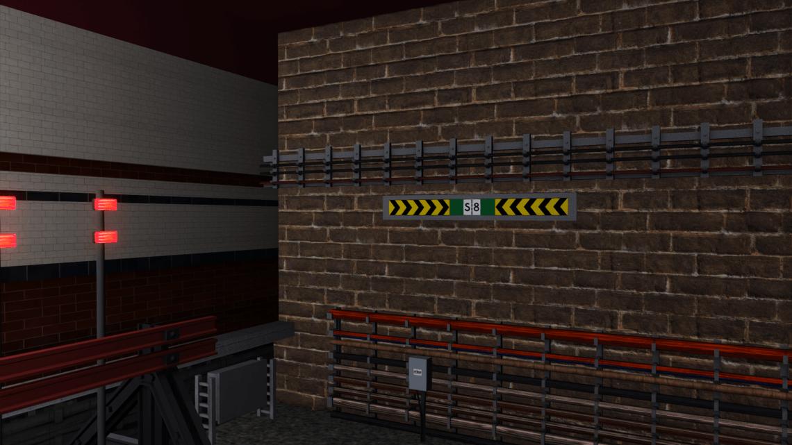 Just Trains London Underground S7, SS & S8 Chevron Retexture