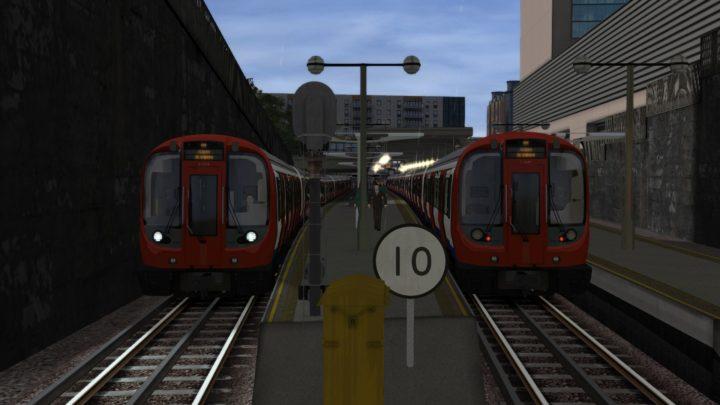 London Underground Metropolitan Line Train Operator Scenario Pack