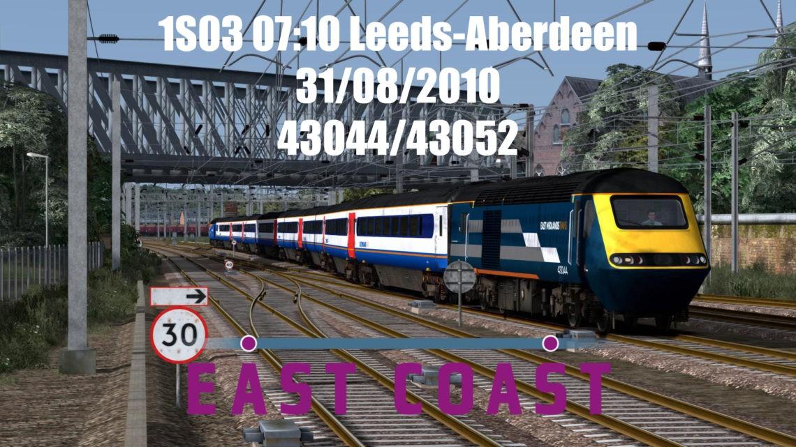 (2010): 1S03 07:10 Leeds to Aberdeen