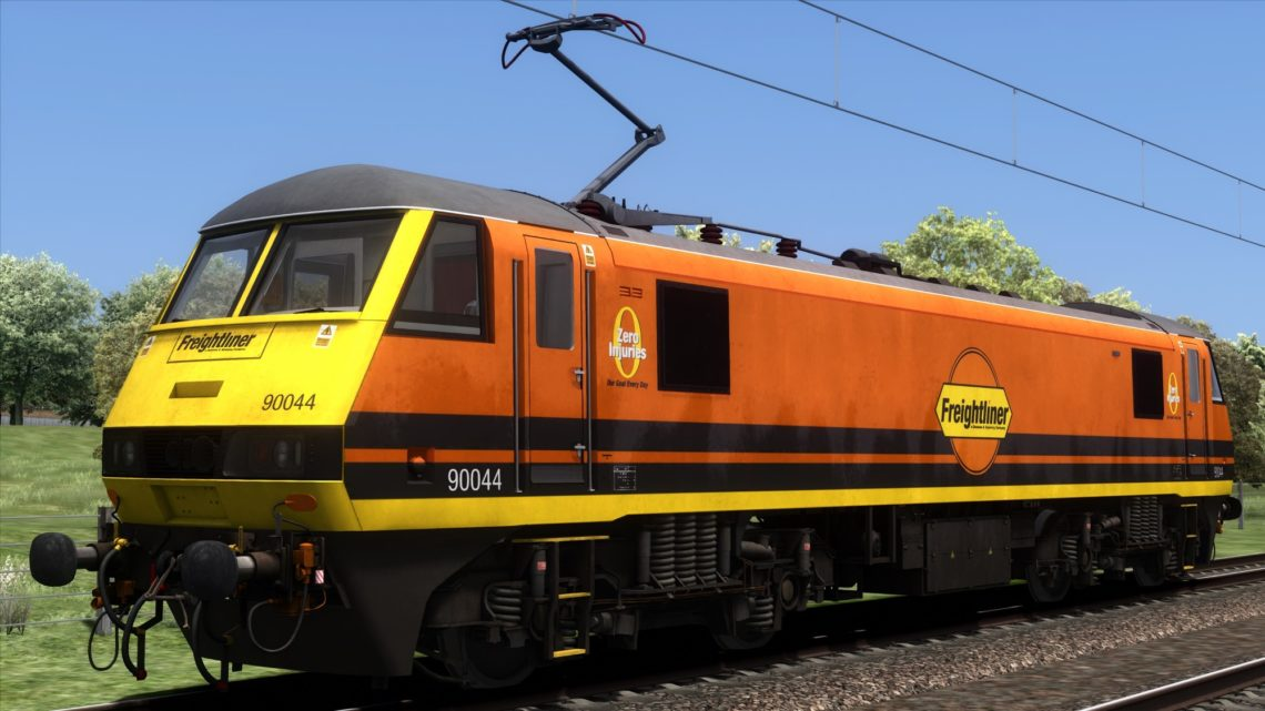Class 90 G&W Freightliner