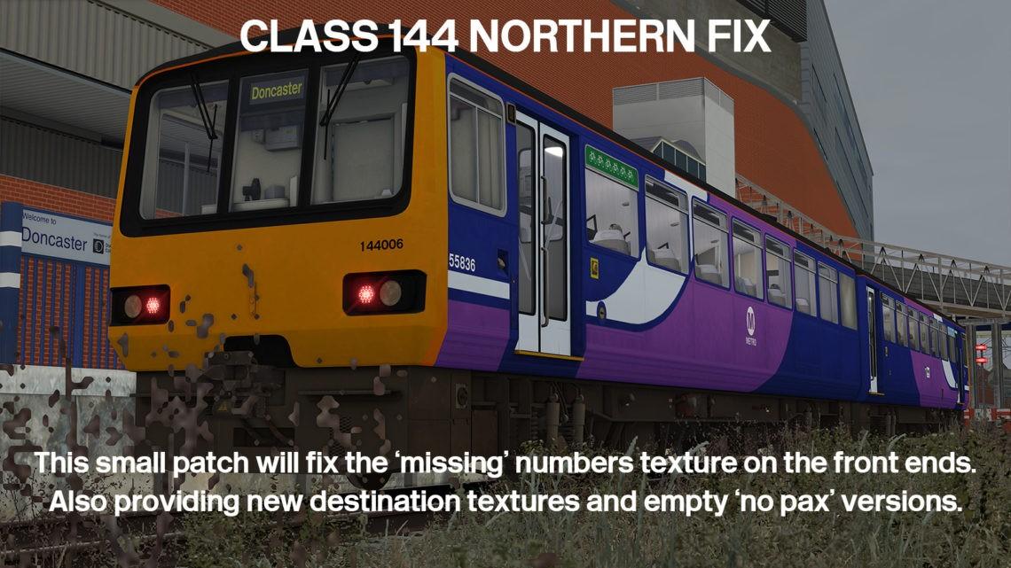 Class 144 Northern Fix