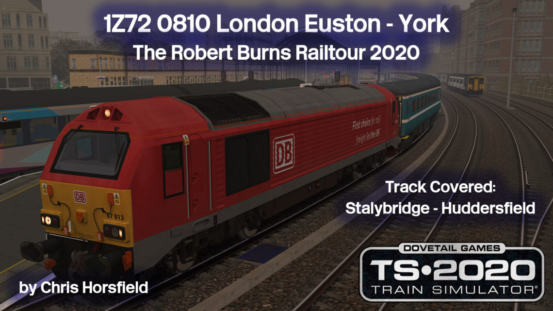 The Robert Burns Railtour 2020