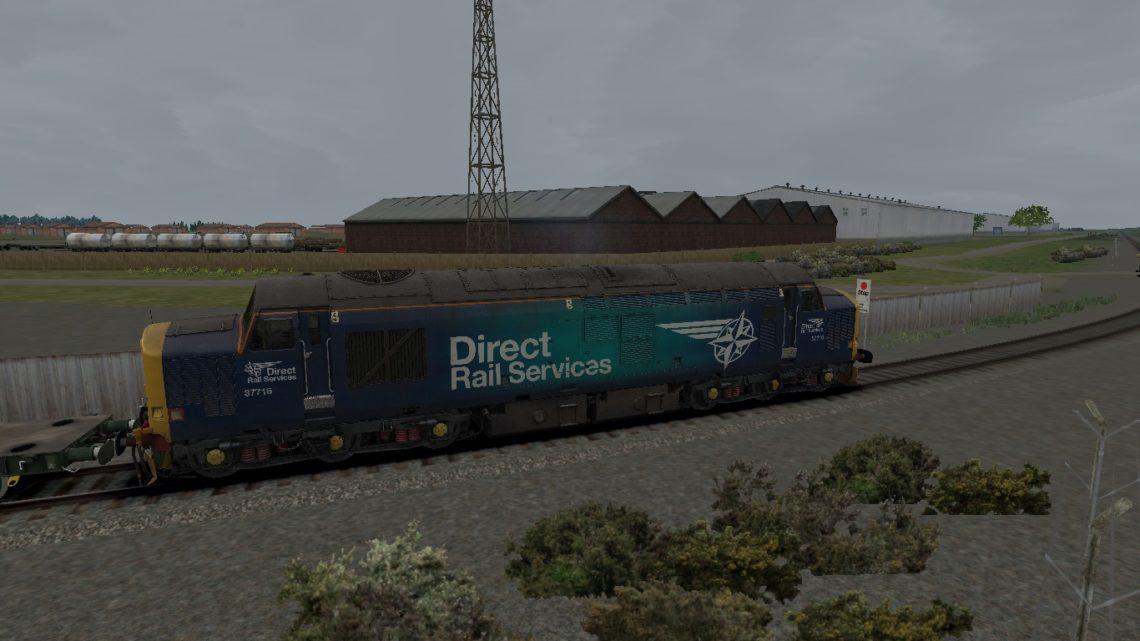 493C 1000 Longtown M.O.D. to Carlisle Kingmoor Sdg(Drs)