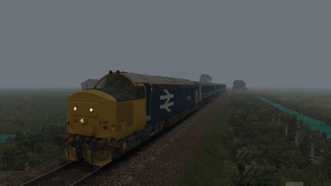 5K61 0655 Norwich Stn C.S.D. to Norwich