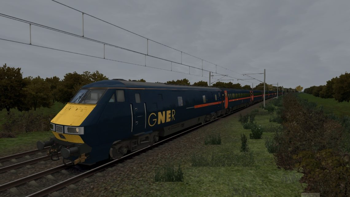 1E05 0730 Edinburgh to London Kings Cross