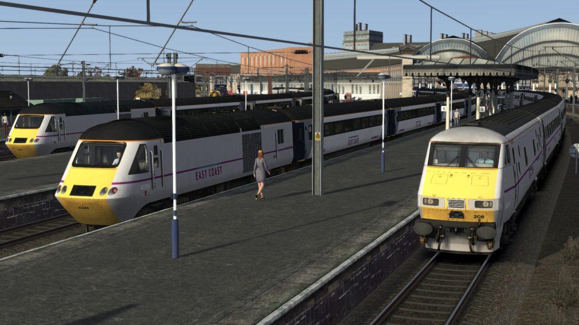 1E16 1300 Edinburgh to London Kings Cross