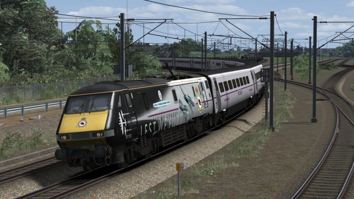 1S15 1130 London Kings Cross to Edinburgh
