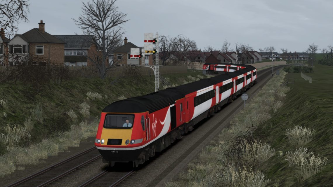1S13 1100 London Kings Cross to Inverness