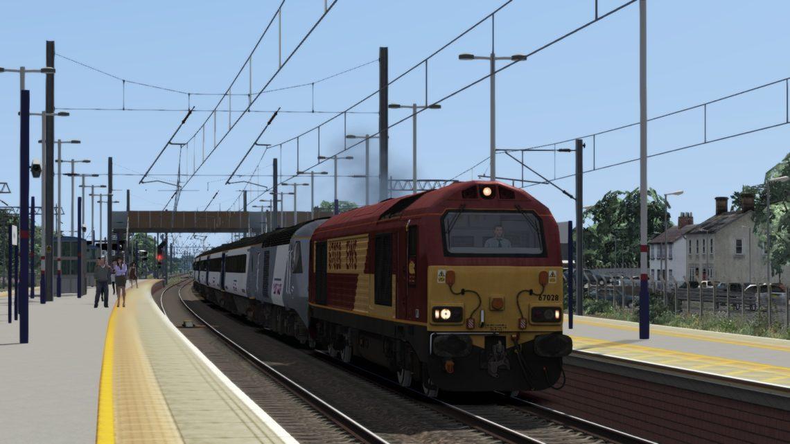 5F62 1513 Stevenage to Craigentinny T&R.S.M.D.