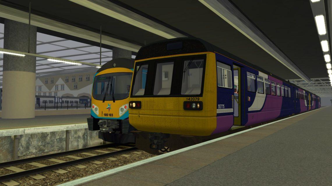 2W48 0931 Southport to Stalybridge