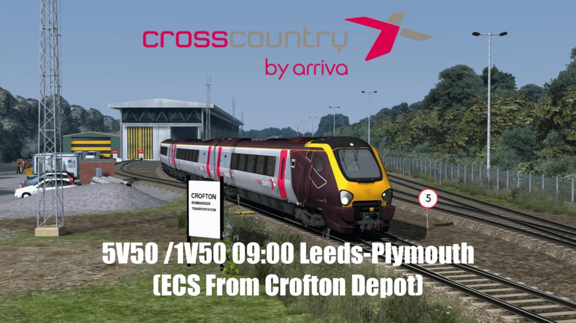 (2018): 5V50/1V50 09:00 Leeds-Plymouth (Sunday's Only)