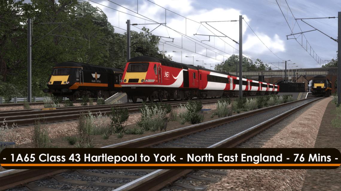 [43] 1A65 (Hartlepool to York, ~2019)